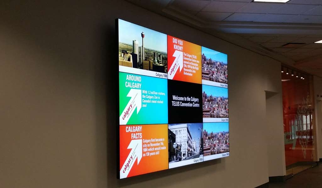 The Led wall is the best marketing tool presently available!
