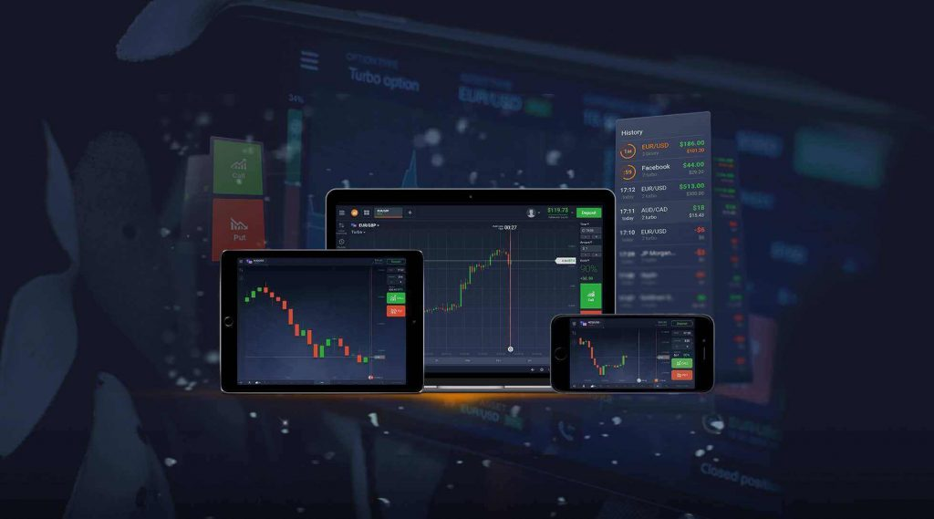 Feature the technology on mobile trading platforms for the transactions