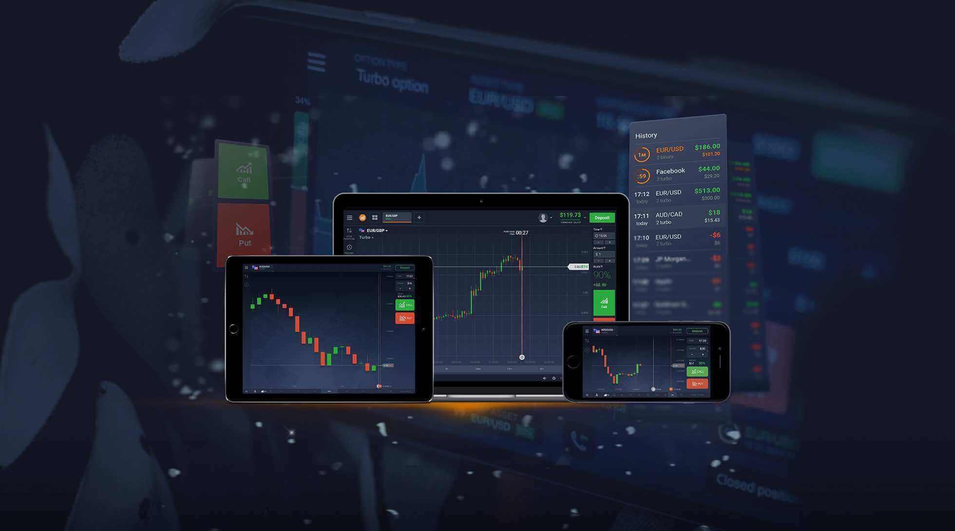 IQ trading platform