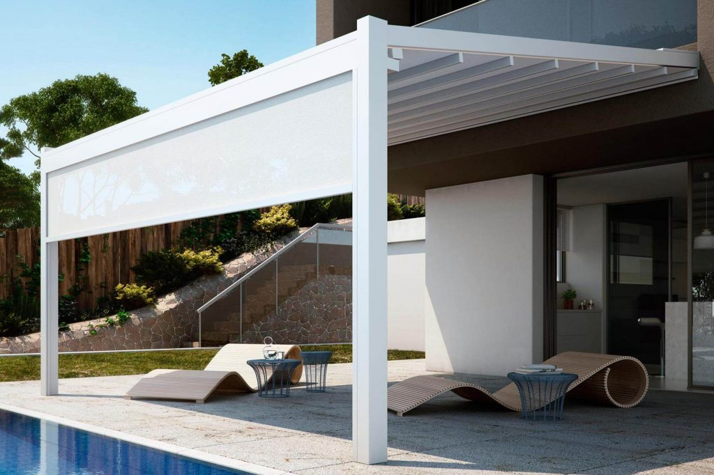 The best beauty brought with the pergolas